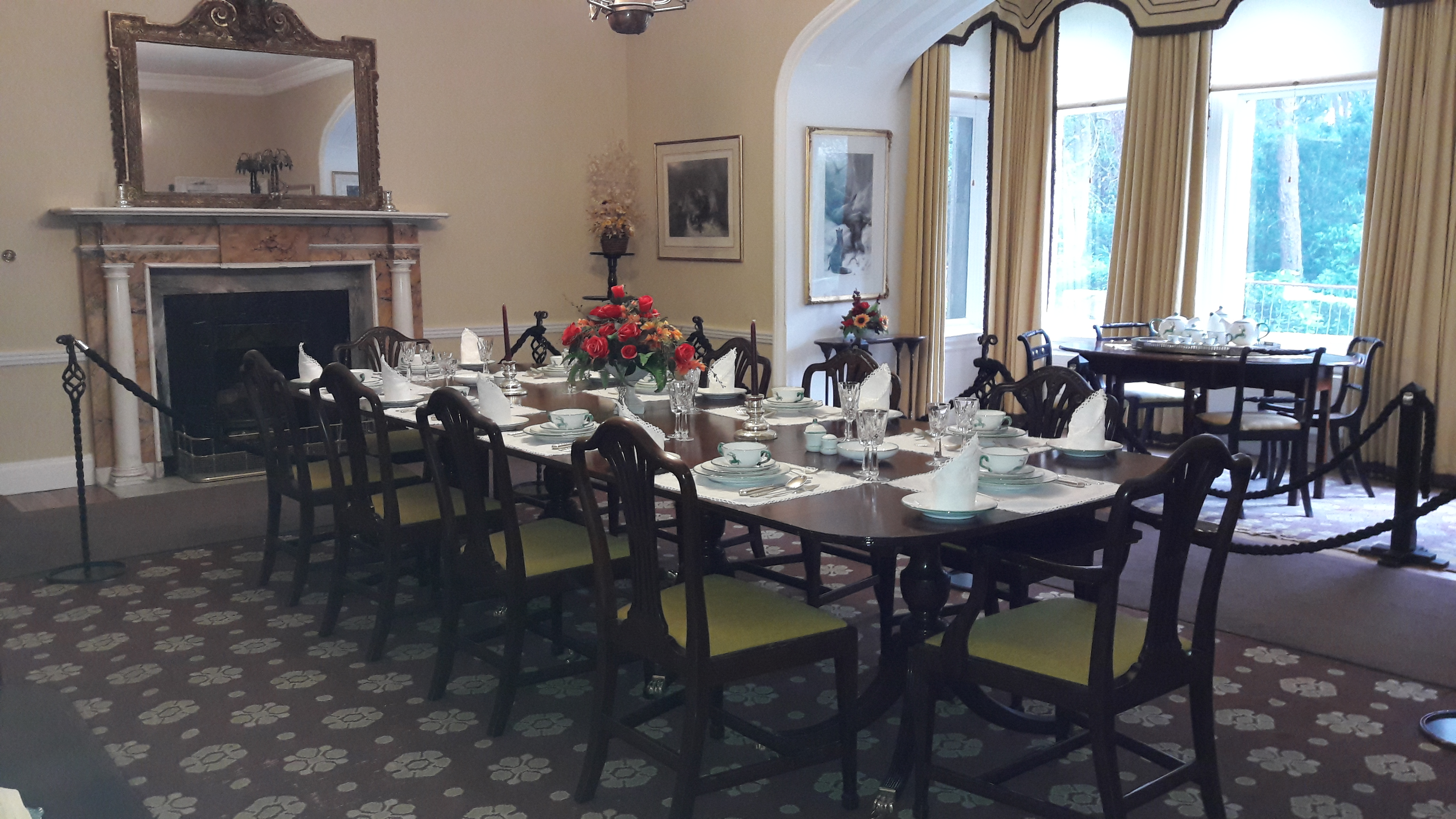 Dining Room in Glenveagh Castle