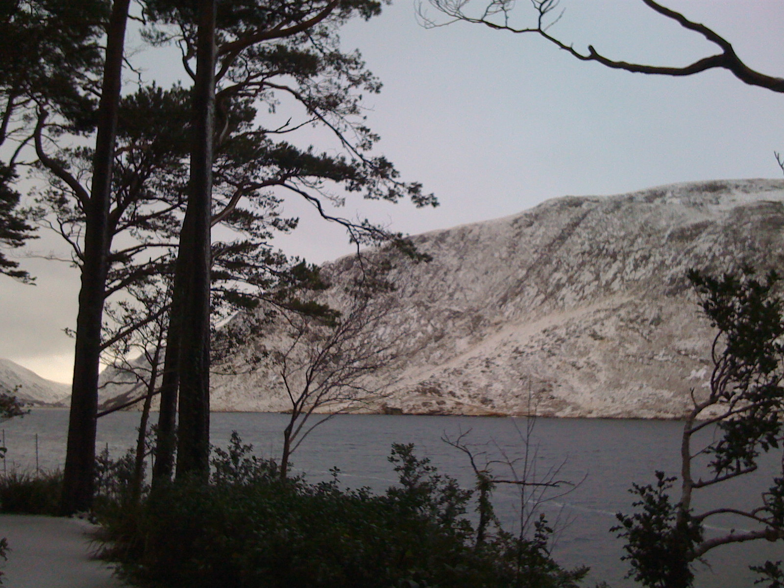 Snowy Hill and Lake