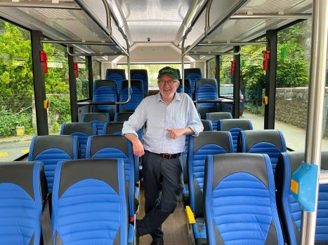 Minister Noonan on Electric Bus